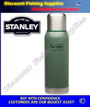 Stanley Adventure 1lt Flask Green (LIFETIME WARRANTY)