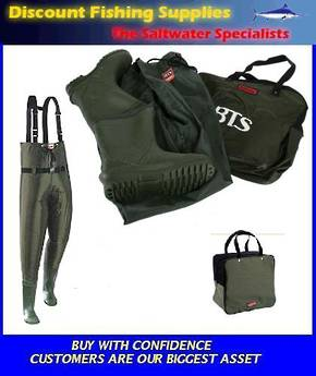 Taimer BTS Hi-Elastic Chest Waders SIZE 10