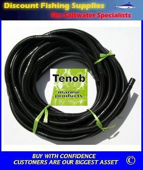 "Black Bilge Hose 1 & 1/8"" (Price per 300mm)"