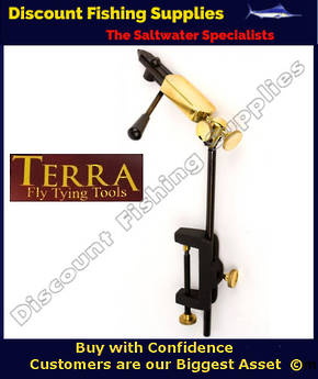 Terra Rotating Spring Action Fly Tying Vise