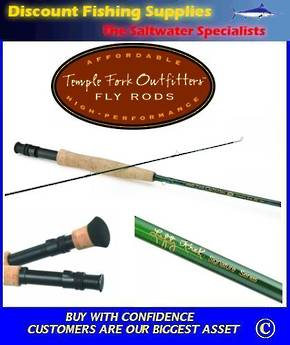 TFO Signature Series Fly Rod - 2pc 9' 8Wt