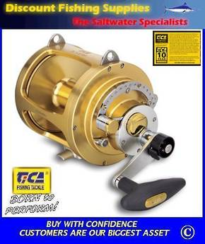TiCA Team Gold 80WTS 2 speed Game Reel