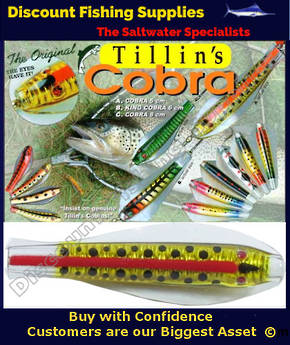 Tillins Cobra Wobbler Lure 19g 3inch Colour 5