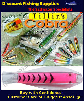 Tillins Cobra Wobbler Lure 19g 3inch Colour 58