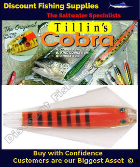Tillins King Cobra Lure 13.5g Colour 62
