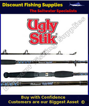 Shakespeare UGLY STICK Gold Stand Up Rod 15-24kg