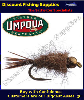 Umpqua GB Hare and Copper #12 Fly