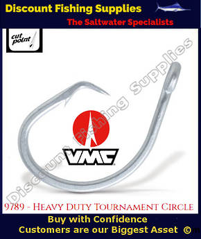 VMC Circle Non-Rev Game Hook 18/0 X 5