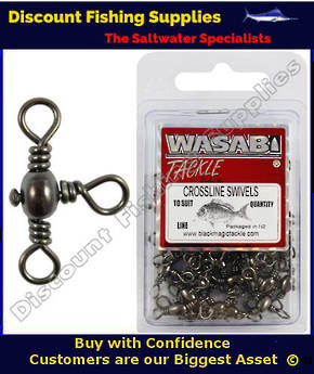 Wasabi Crossline Swivels - Economy Pack