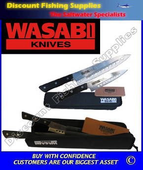 Wasabi Kitchen Knife set - Gourmet