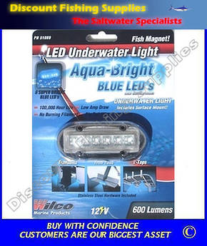 WILCO Underwater LED Light Blue