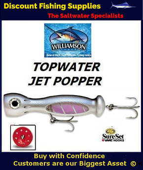 "Williamson Jet Popper - 5"" Mullet"