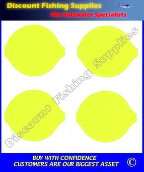 Lil Corky Round Float 20mm - Florescent Chartreuse