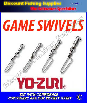 Yozuri (Duel) HB Snap Coastlock #9 Heavy Duty game Swivel