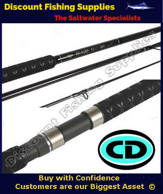 Cd xd surf rod 14 39 6 3pc cd rods surfcasting rod for Wholesale fishing tackle outlet