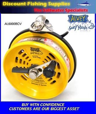 Alvey 6000 BCV Surfcasting Reel