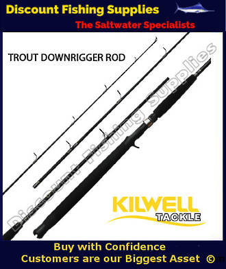 Kilwell extreme ll trout troller rod trout rod for Wholesale fishing tackle outlet