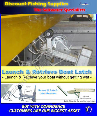 Launch And Retrieve Boat Latch (For Fibreglass Boats)