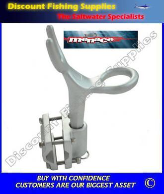 menace side rail mount rod holder rod holders boating gear dfs