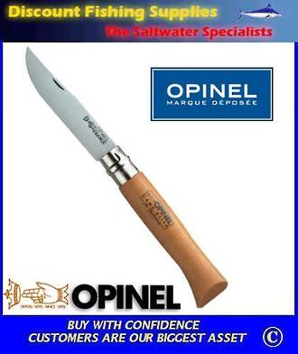 Opinel Carbon Steel Pocket Knife #10