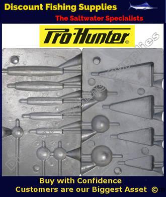 Pro Hunter Multi Sinker Combo, Pyramid - Ball and Barrel