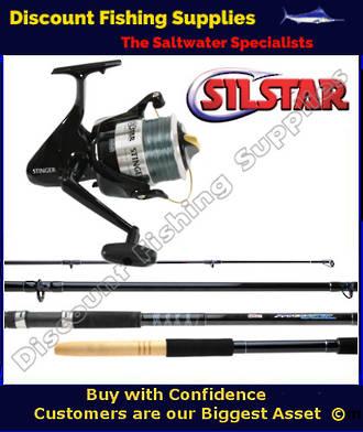 Silstar spincast stinger ss90 15 39 surf combo silstar for Wholesale fishing tackle outlet