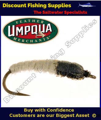 Umpqua Magic Caddis White #12 Fly | TROUT FLIES