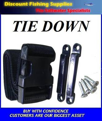 Universal Tie Down - Battery (or Fuel Tank) Strap