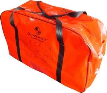 ocean safety 4 man liferaft valise