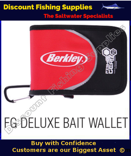 Berkley fg deluxe bait wallet rig bag tackle wallet dfs for Wholesale fishing tackle suppliers