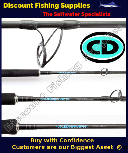 Cd albagraph 6 spinning rod 10kg 2pc cd rods spinning for Wholesale fishing tackle outlet
