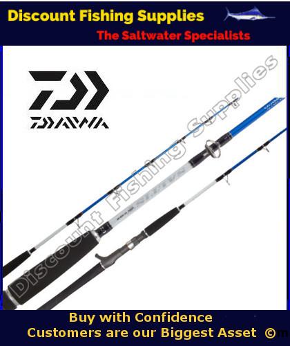 Daiwa saltist hyper 350gr oh jig rod daiwa jig rod for Wholesale fishing tackle outlet