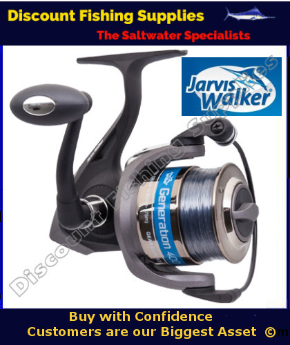 Jarvis Walker Generation 600 Spin Reel