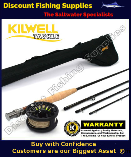Kilwell Fly Combo Dragonfly 9064 Wf6f With Tube