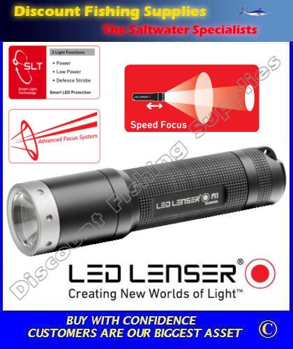 LED Lenser M1 Torch | LED LENSER | LED TORCH