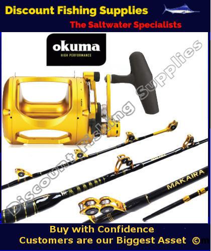 Okuma makaira standup game combo 37kg makaira game for Wholesale fishing tackle outlet