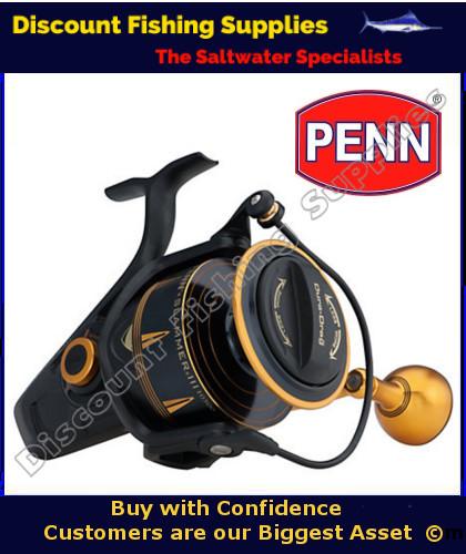 Penn slammer iii 8500 spin reel penn slammer iii for Wholesale fishing tackle outlet