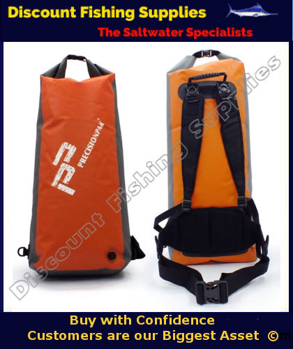 Precision pak arctic seal dry bag 45l dry bag for Wholesale fishing tackle outlet