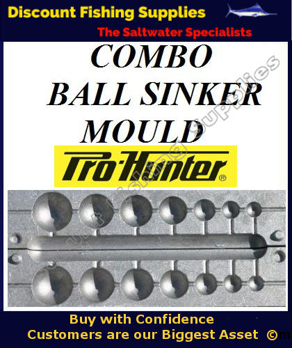 Sinker mould ball combo sinker mould discount for Balls deep fishing weights