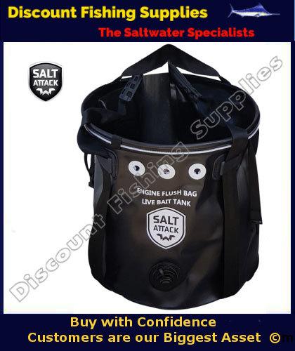 Salt attack engine flush bag medium salt away engine for Cheap saltwater trolling motor