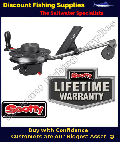 Scotty strongarm 24 manual downrigger 1085 downrigger for Wholesale fishing tackle outlet