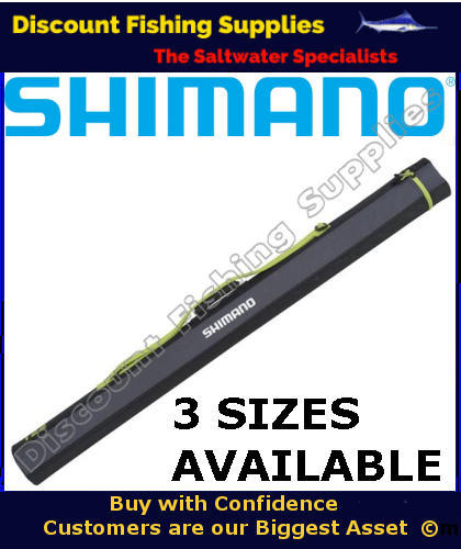 Shimano rod tube suits 7 or 7 39 6 2piece rods rod for Wholesale fishing tackle outlet