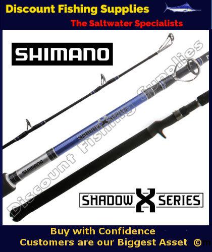 Shimano shadow x nano overhead rod 10 15kg 6 39 3 shimano for Fishing supply stores