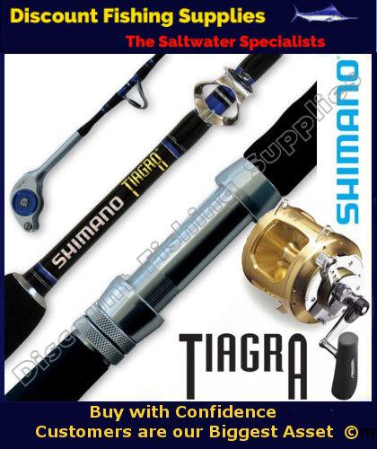 Shimano tiagra 30wide combo shimano tiagra game for Cheap fishing supplies