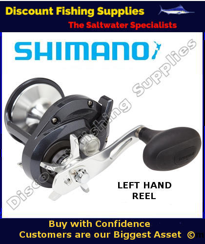 Shimano torium 30hga high speed reel shimano torium for Left handed fishing pole