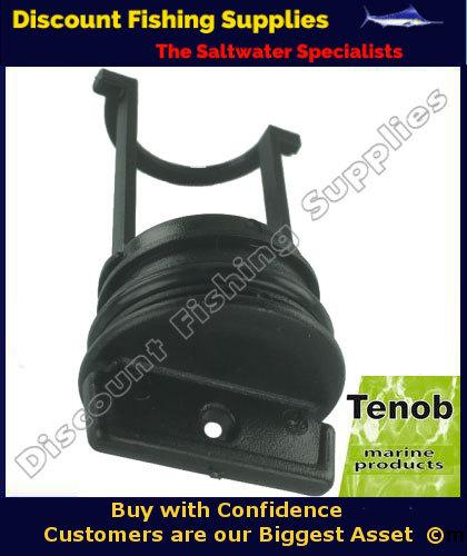Bung Plug Only Black Large Tenob Discount Fishing Supplies