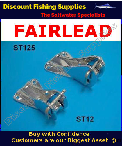 Bow Fairlead Stemhead Boating Gear Discount Fishing