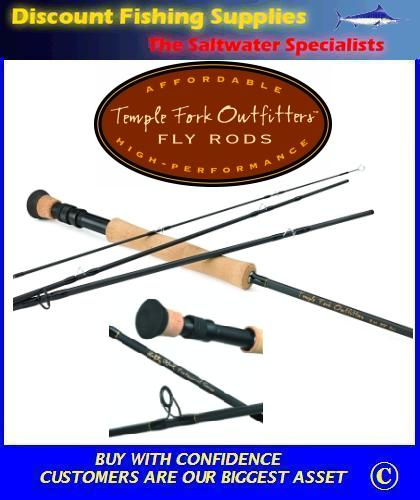 Tfo professional fly rod 4pc 9 39 6wt for Discount fly fishing