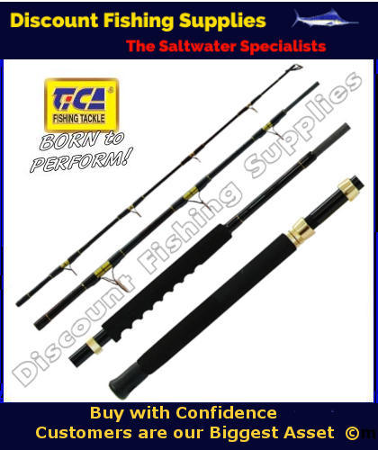 Tica expert 4pc 15kg spin travel rod or lbg rod travel for Wholesale fishing tackle outlet