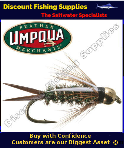 Umpqua gb prince nymph 12 fly trout flies nymph fly for Fishing supply stores